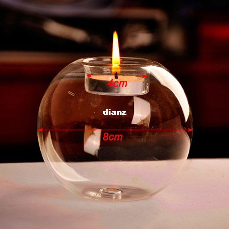 NO Candle New Arrive Classic Portacandele in cristallo per matrimonio Bar Party Decorazioni per la casa Candelabro