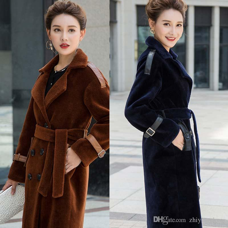 classic fit attractive designs various kinds of 2019 2018 New Arrival Best Selling Shearling Coats Women High Quality Long  Sleeves Winter Thick Womens Outweaer Coats From Zhiyuandress, $1206.04 | ...