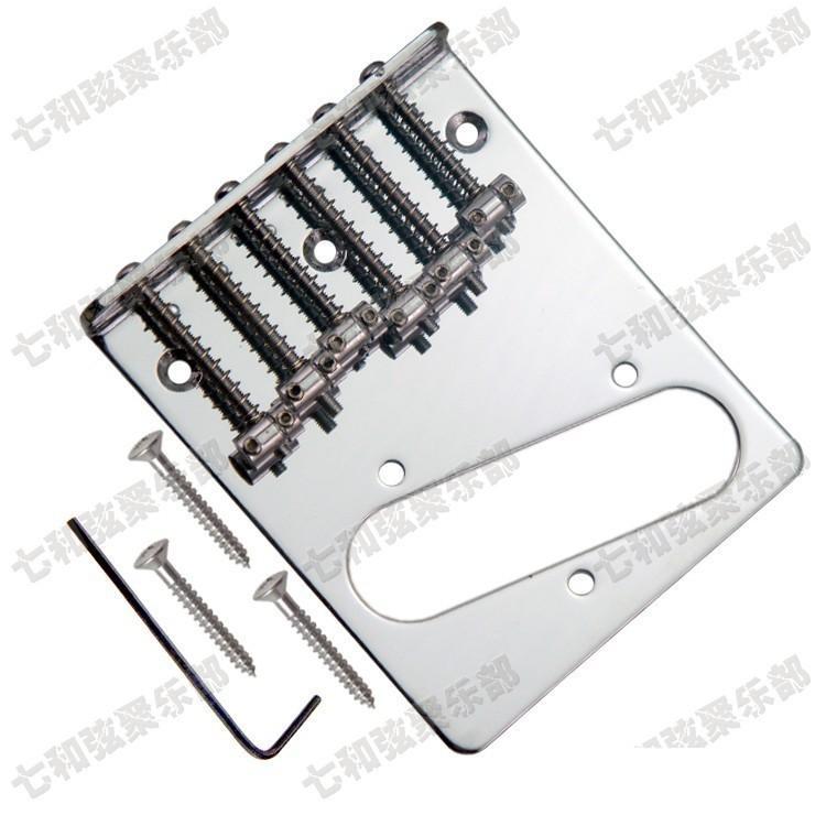 T03 corde per chitarra Ponte Saddle Hardtail Bridge Top Load Chitarra elettrica Ponte Chitarra Ricambi accessori