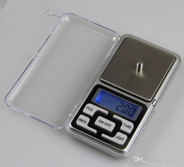 500g x 0.01g Digital Scale Silver Jewelry Weight Balance Tool Device GL