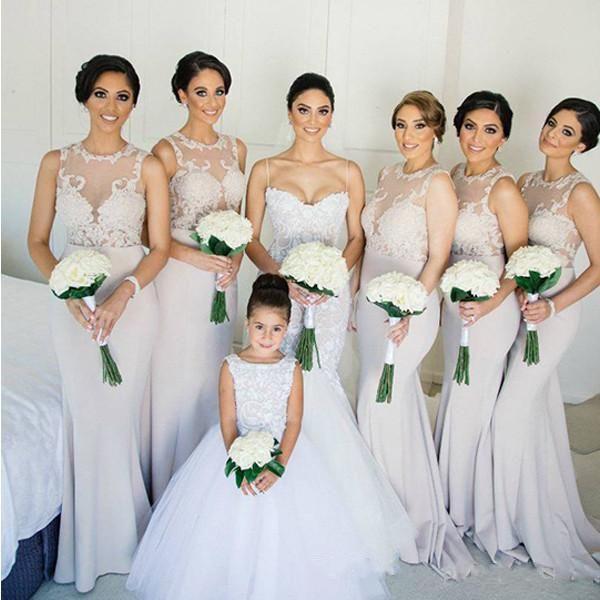 2018 длина пола русалка невесты платья платья appllique кружева верхняя вершина драгоценного камня плюс размер свадьбы гость платье на заказ сделано дешевое платье выпускного вечера