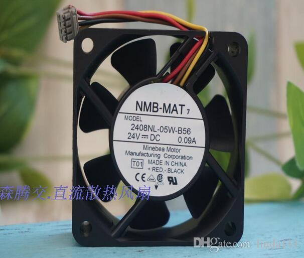 مروحة NMB-MAT 6020 6 سم 24 فولت 0.09A 2408NL-05W-B56