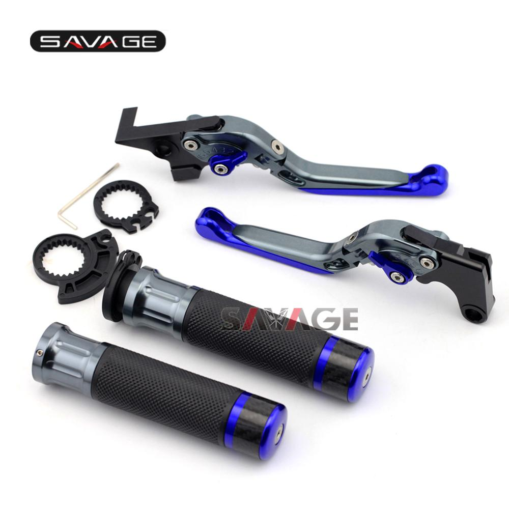 For Bajaj Pulsar 200 NS/AS/RS Brake Clutch Levers Handlebar Hand Grips  Motorcycle Adjustable Folding