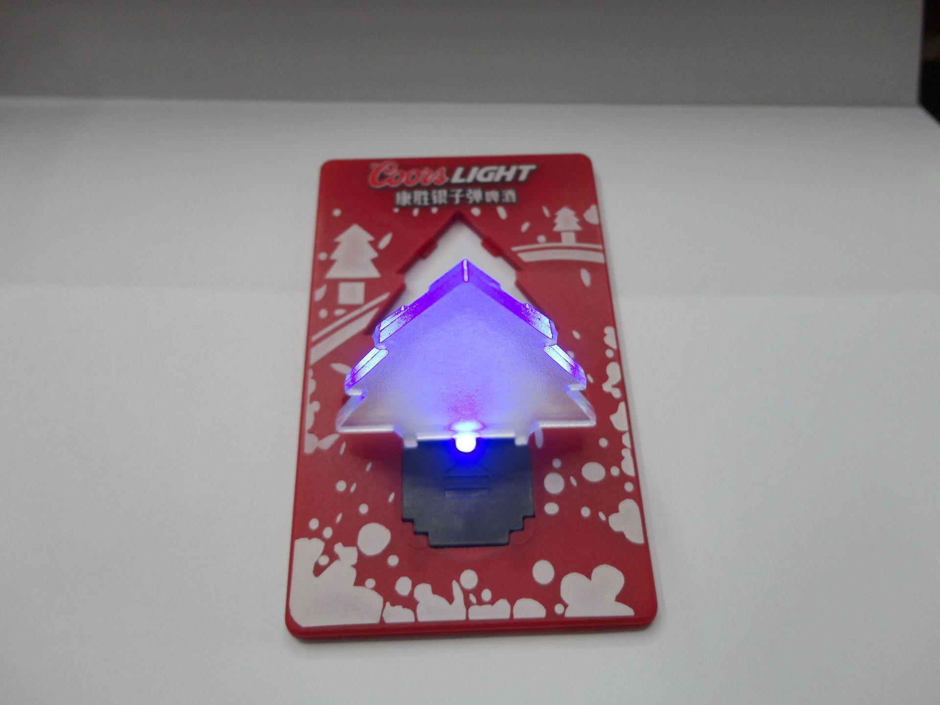 크리스마스 카드 램프, 선물 카드, LED 카드 라이트