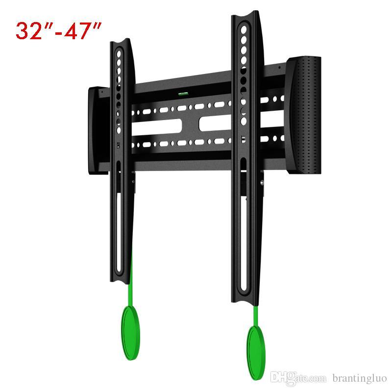 """NB C2-F Universal 32 """"-47"""" LCD-LCD-TV-Wandhalterung für festes TV-Rack mit Entriegelungsvorrichtung"""