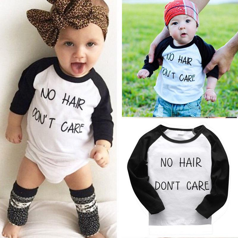 Ec Kid Baby Boy Girl Short Sleeve Letter Glasses Print T-shirt Tops Outfits Clothes Baby clothes