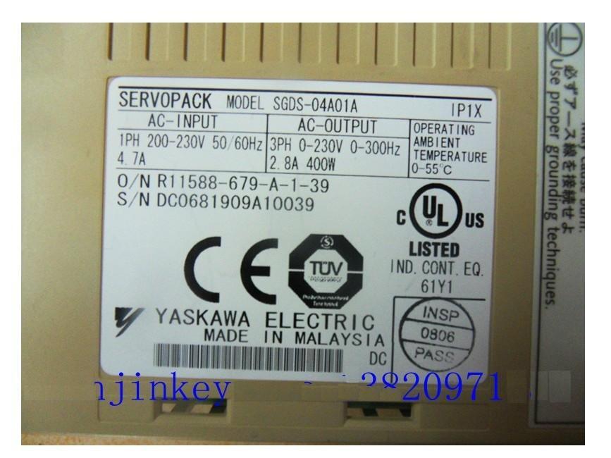 PACK SERVO SGDS-04A01A