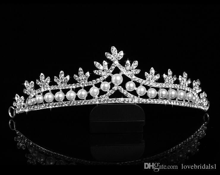 2017 pas cher élégante couronne coiffe mariée couronne bijoux ornements de cheveux coiffes de mariage femme couronne livraison gratuite