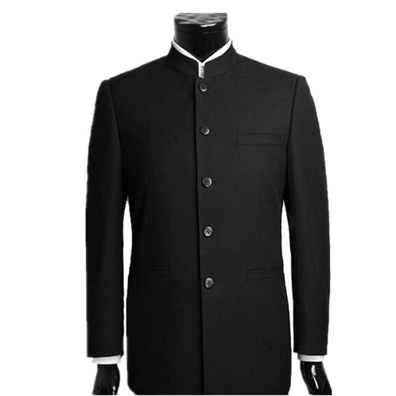 Großhandels-Männer-Klage stellt chinesische Tunika-Klagen ein Standplatz-Kragen-klassische Klageart kultivieren irgendjemandes Geschäftsmännischer formaler männlicher Art und Weise Anzug