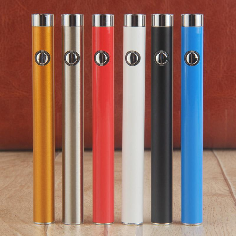 510 thread bud touch o pen vape battery 300mAh colorfull vaporizer e cig batteries with charger for ce3 g2 wax oil cartridge