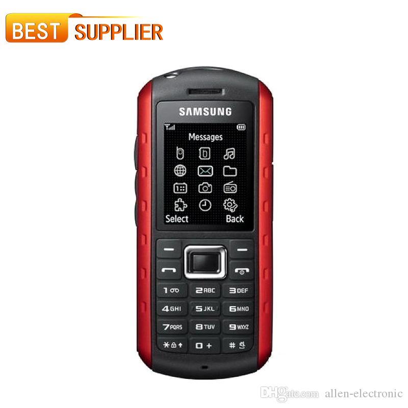 B2100 100% оригинальный Samsung B2100 мобильный телефон gsm разблокирован дешевый телефон водонепроницаемый отремонтированы бесплатная доставка