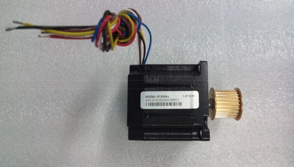 새로운 리드선 3 상 스테퍼 모터 NEMA 23 출력 0.9NM 기어 휠 573S09-L 6 선은 3ND583 드라이브 CNC 모터와 함께 작동해야합니다