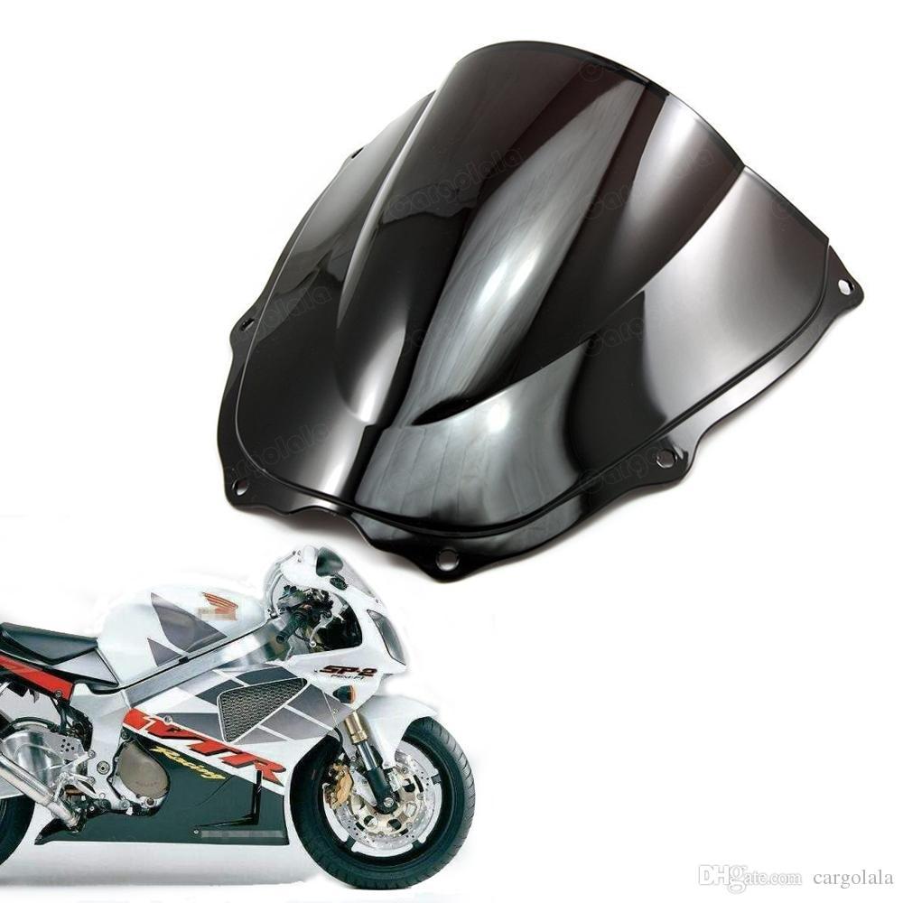 Nova dupla bolha pára brisas escudo para Honda RVT1000R VTR1000 2000 2001 2002 2003 2004 2005 2006