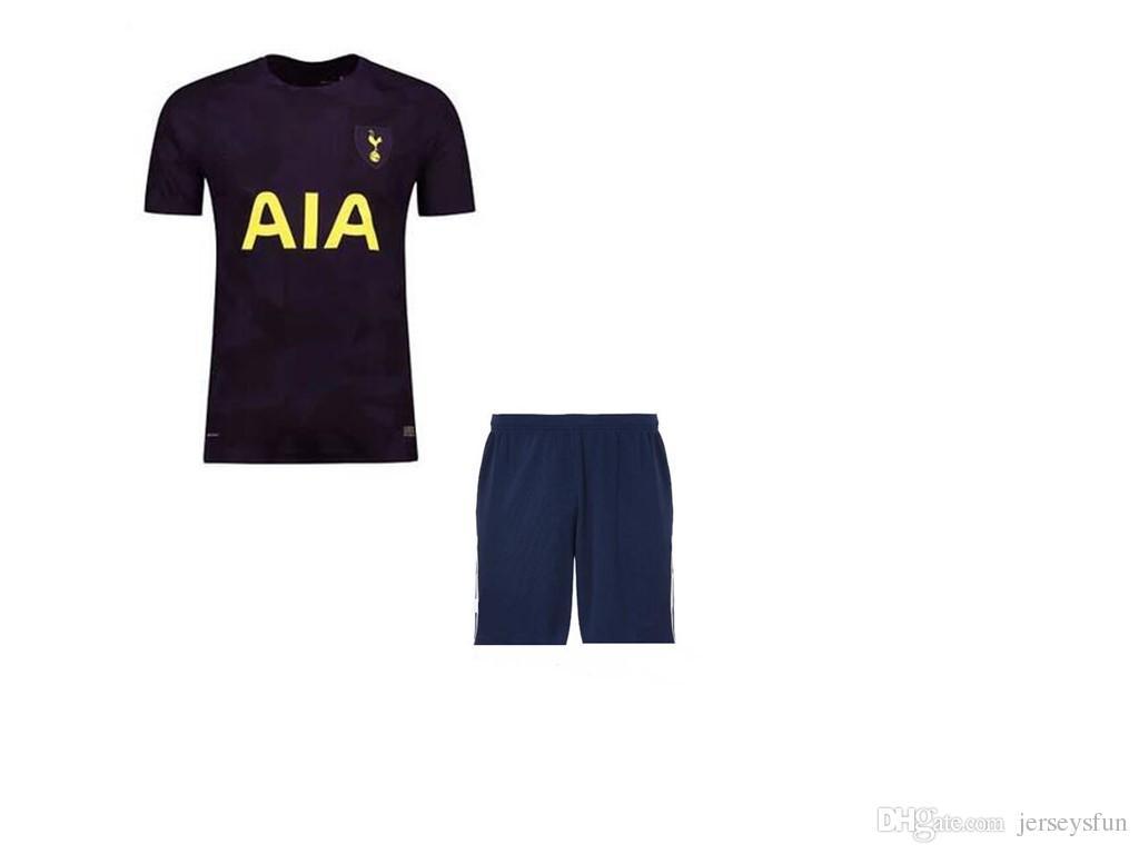 2017 2018 Adult spurs soccerJersey kit 17 18 home away totten soccer jersey  kit man soccer kit free shipping uniforms 7892ad245