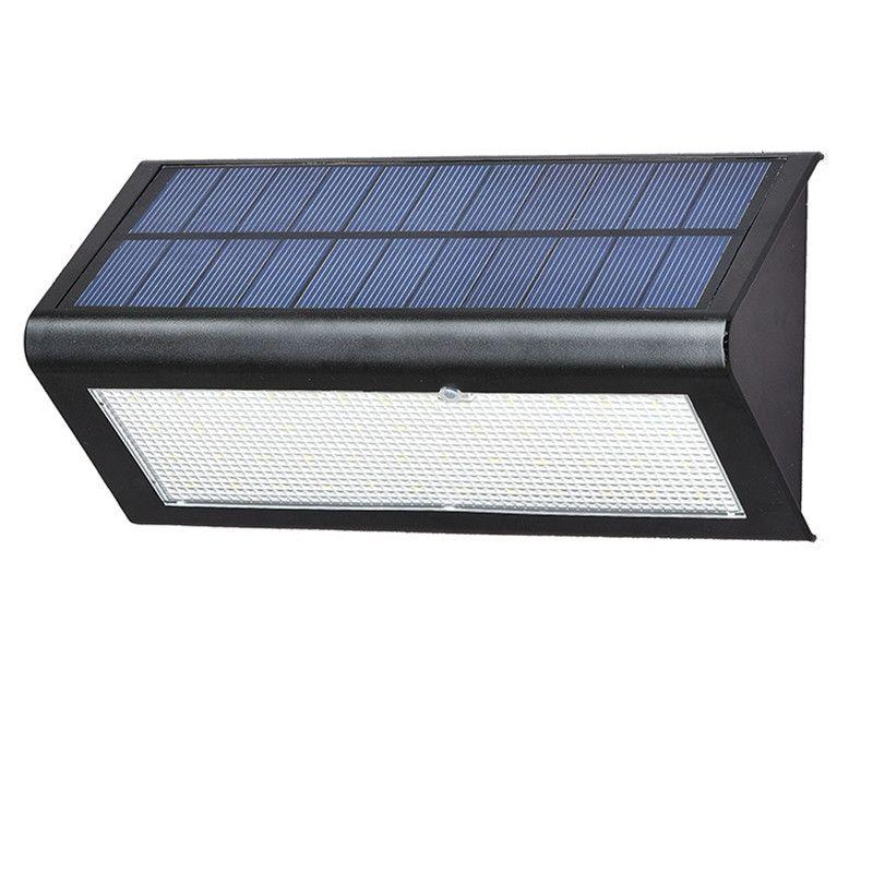 One-One Solar Wall Light 7W 800LM 8 cali ABS Ogród Balkon Lampa Odkryty Wodoodporny Korytarz Parking Oświetlenie PIR Czujnik ruchu z Chin