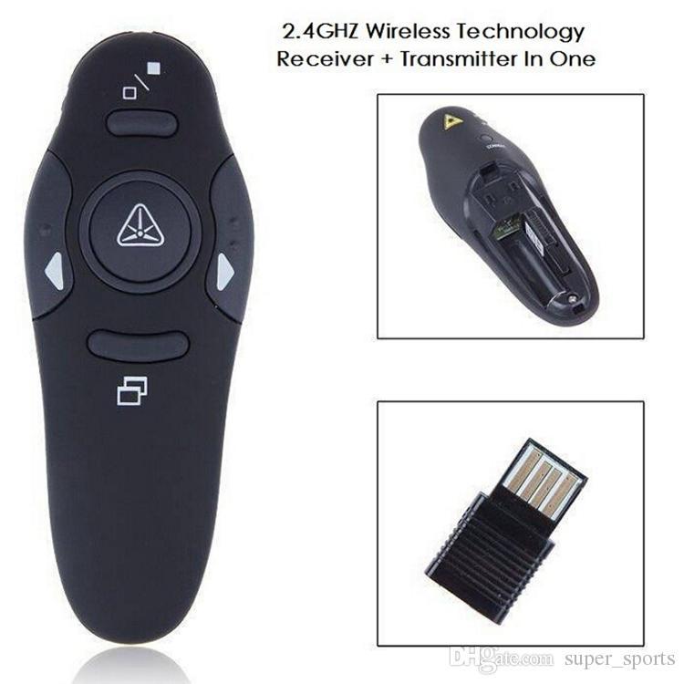Rf 2. 4ghz wireless presenter usb remote control presentation mouse.