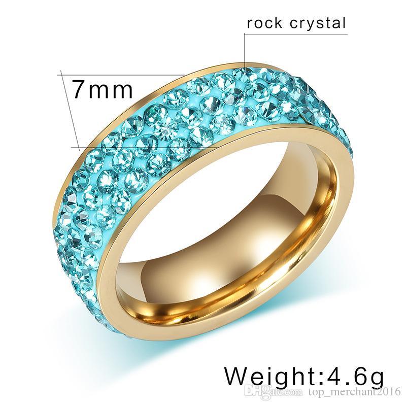 Diamantring verlobung blau  Großhandel Diamantring Transarent / Grün / Blau / Rosa / Rote ...