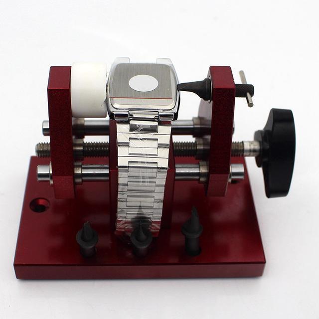 Speciale di alta qualità orologio press kit set strumento 07115 caso posteriore più vicino di rame custodia stampo vetro di cristallo raccordo 33/31/29/27/25/23/21 / 19mm