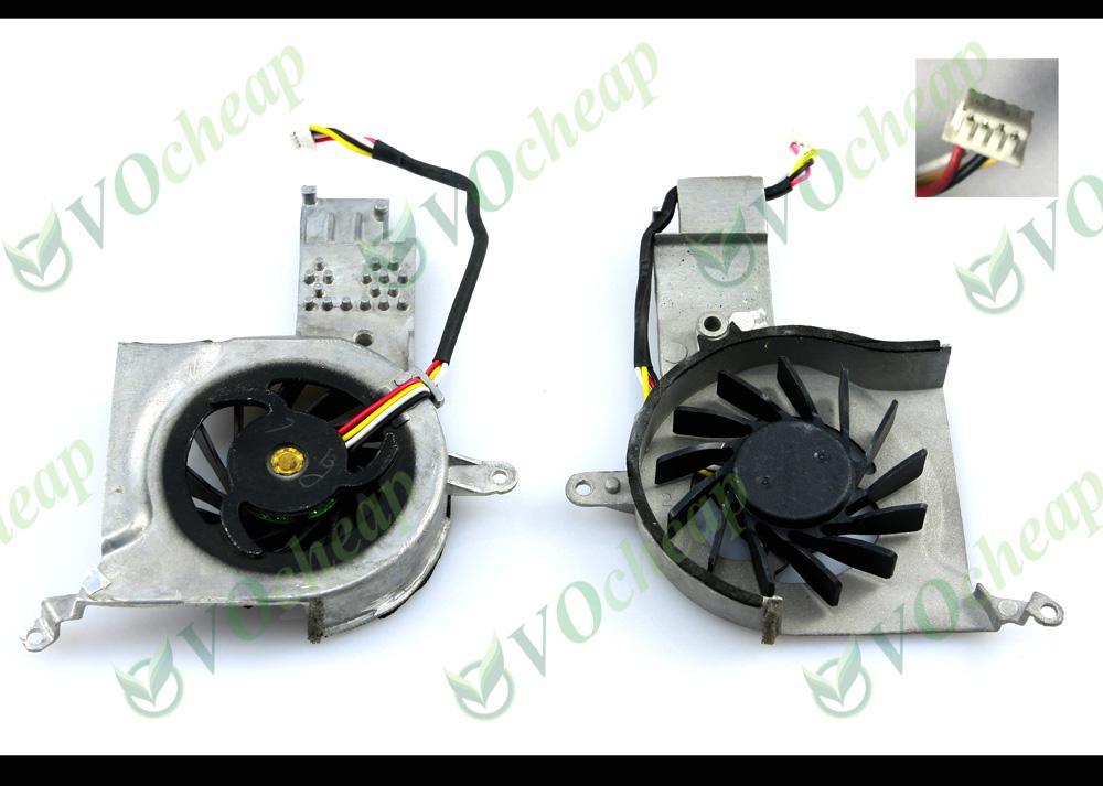 Ventilador de refrigeración W / O para portátil nuevo y original para portátiles HP Pavilion tx1000 tx1100 tx1200 tx1300 tx1400 tx2 tx2500 Series - KDB0420