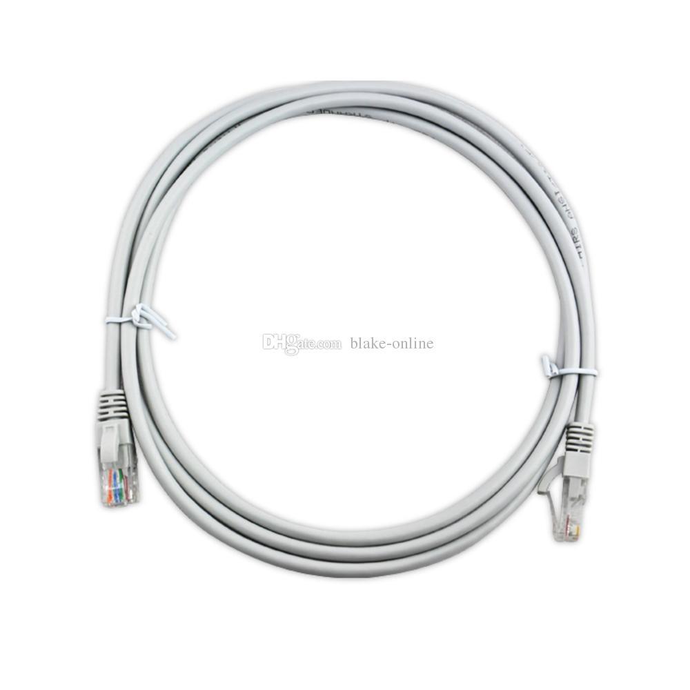 CAT.5E كبل الشبكة 2M 3M 5M كبل التصحيح Cat5E Ethernet Patch Cables كبلات LAN للكمبيوتر PC LAN Network الحبل