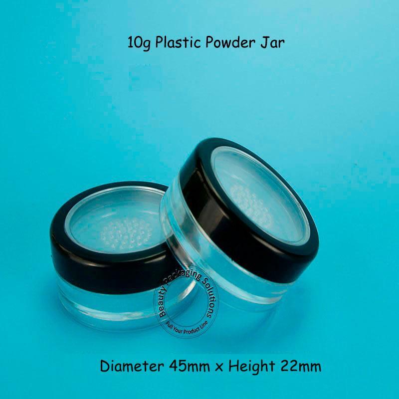 Förderung Qualität 10G 50 teile / los Kosmetische Flaschen Leere Pulver Box Kosmetische Behälter Kunststoff Reise Tragbare Refilable