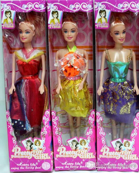 Оптовая кукла кукла, в штучной упаковке одно твердое тело, смешанный характер, 240 шт. Сумка
