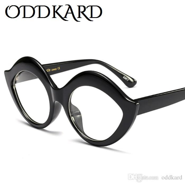 Oddkard العصرية حزب أزياء نظارات للرجال والنساء شعبية ماركة مصمم سموكي القط العين النظارات oculos دي سول uv400
