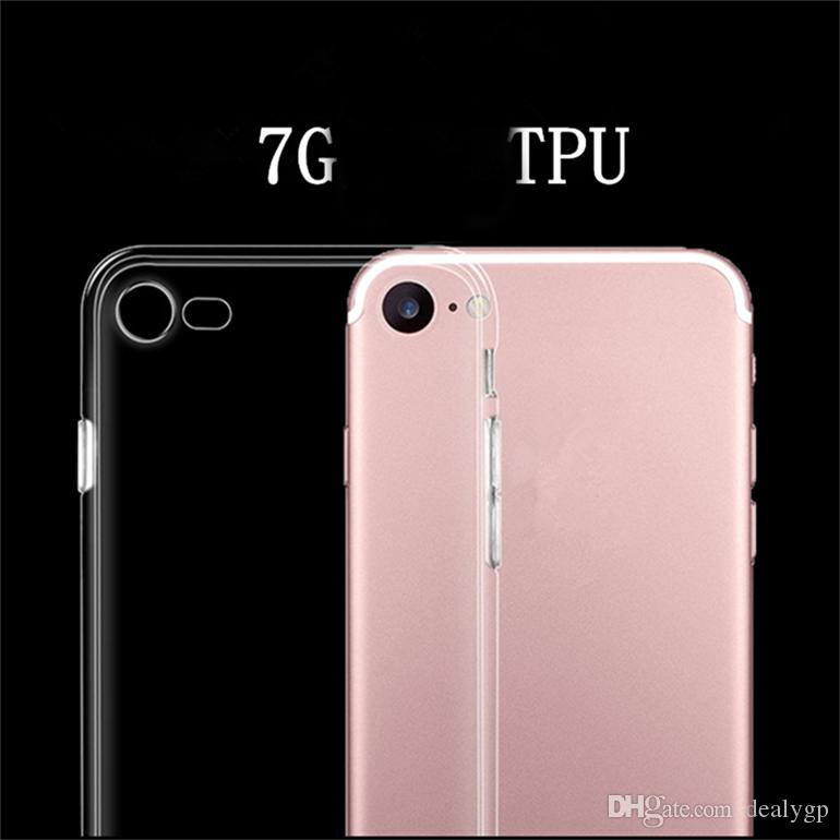 For Iphone 6 Cases Clear Ultra Slim 0.4mm Transparent TPU Case for Iphone 6 plus China Factory
