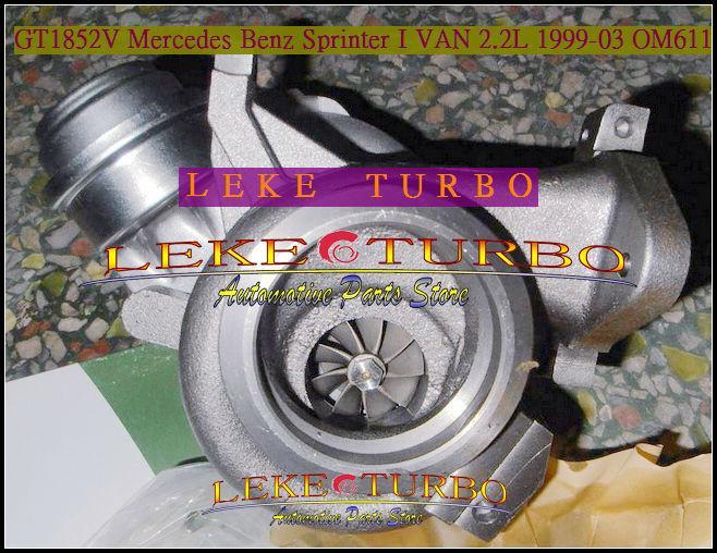 GT1852V 709836-0004 for Mercedes benz Sprinter 1999-03 2.2L OM611 turbocharger (4)