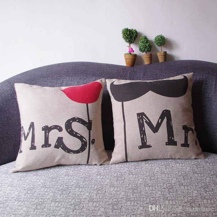 Venta al por mayor del amortiguador Europa Creativa Oficina Continental estilo del algodón híbrido almohada cojín del sofá almohada lumbar