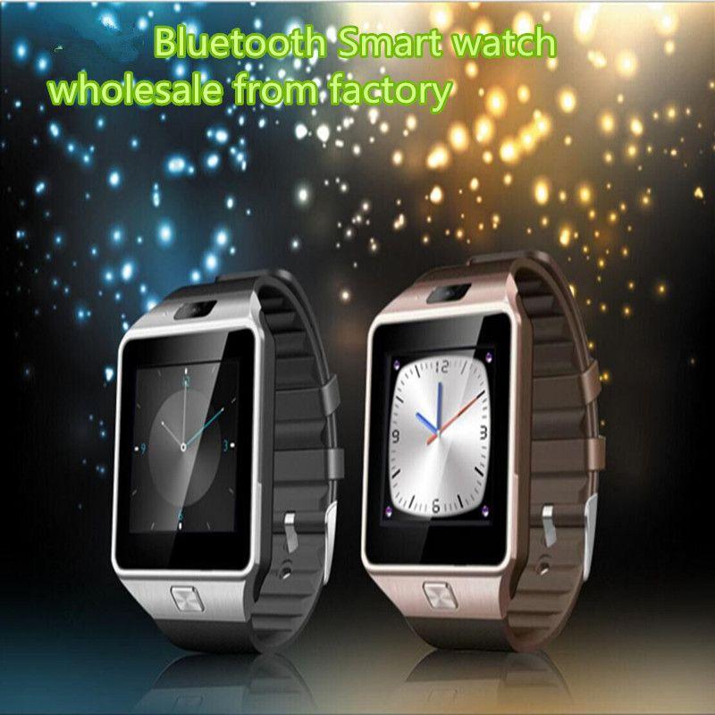 블루투스 스마트 시계 2016 안드로이드 전화에 대 한 SIM 카드 스마트 시계와 함께 최신 SmartWatches 1.56inch pk U8 GT08 gv18 GV09 1pcs / Lot