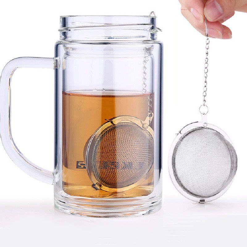 200pcs High Quality Tea Bags Food Grade 304 Stainless Steel Mini Tea Ball Infuser Filter Loose Tea Leaves Strainer ZA0389