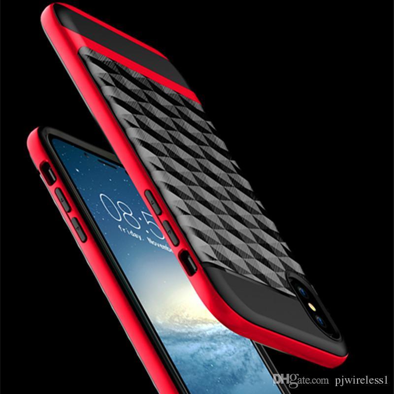 Для Samsung Galaxy Примечание 8 для Iphone 8 7 плюс 6 плюс брони Гибридный случай Hybrid двухслойный протектор крышки B