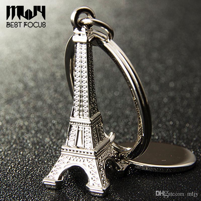 الجدة برج إيفل المفاتيح مفاتيح السيارات الهدايا التذكارية باريس جولة إيفل المفاتيح مفتاح سلسلة سبيكة حلقة رئيسية الديكور مفتاح حامل 9 أنماط