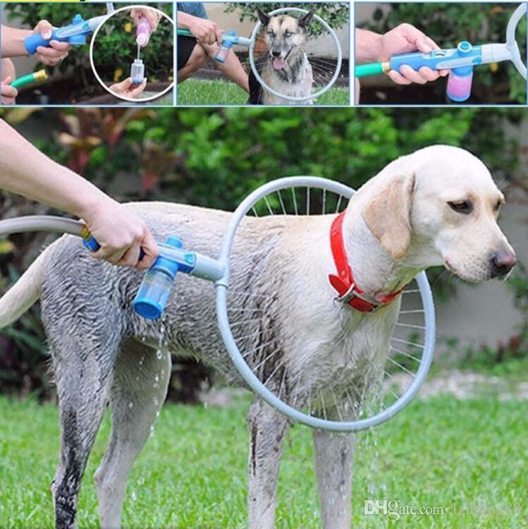 Smartlife Woof Washer 360 Large/Small Size Pets Cleaner Love Washing Dog Convenient Clean Tool Easy Using Washing Gun