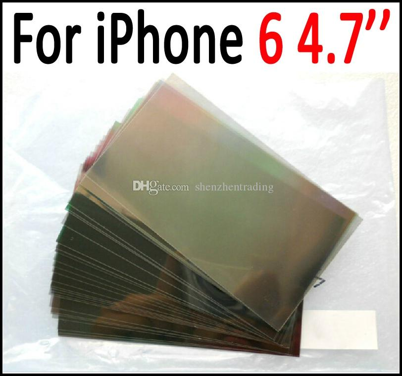For iPhone 6 4.7inch LCD Polarizer Film Polarization Polaroid Polarized Light Film for iPhone6 6S 4.7 LCD Screen Filter