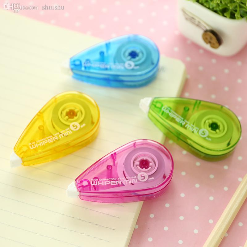 Wholesale-Japanese stationery Plus/ Plus WH-505 mini portable tape tape correction with 7m