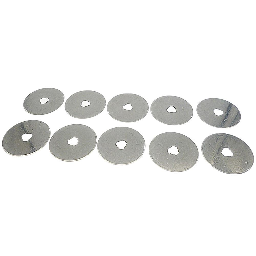 60MM ROTARY CUTTER BLADES fits Olfa, Fiskars, Clover and more MT Blades