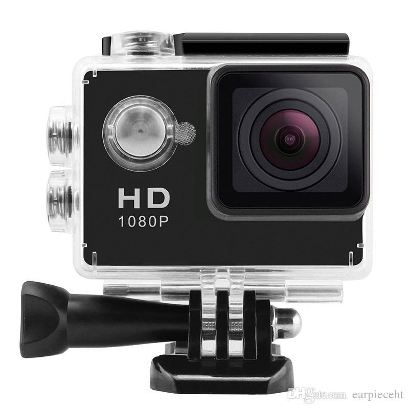 Precio bajo SJ4000 estilo A9 pulgadas pantalla LCD 1080P Full HD cámara de acción 30M Videocámaras a prueba de agua SJcam casco deporte DV coche DVR 5pcs