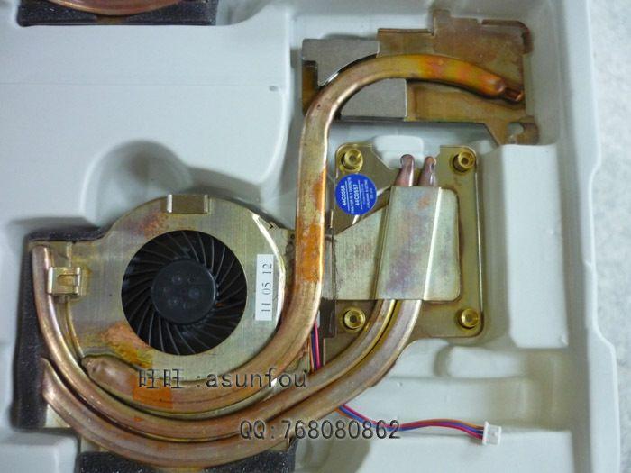 Cooler IBM Thinkpad T61 T61p CPU 냉각 방열판 (팬 포함) 44C0557 44C0558