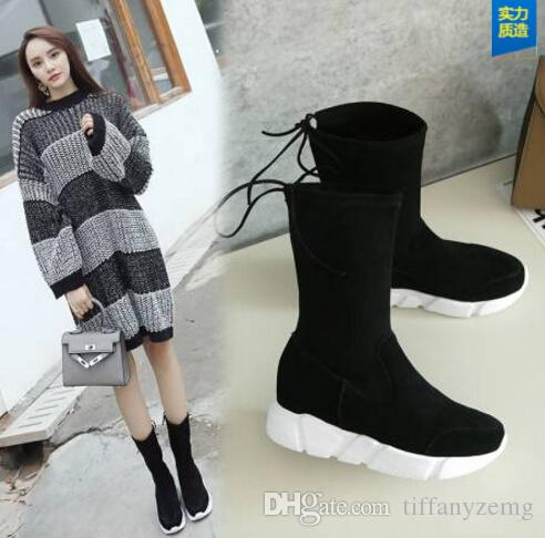 professional website classic style recognized brands 2018 Women Winter Shoes Flat Heel Ankle Boots Casual Cute Warm Shoes  Fashion Snow Boots Women'S Boots Peep Toe Booties Cat Boots From  Tiffanyzemg, ...