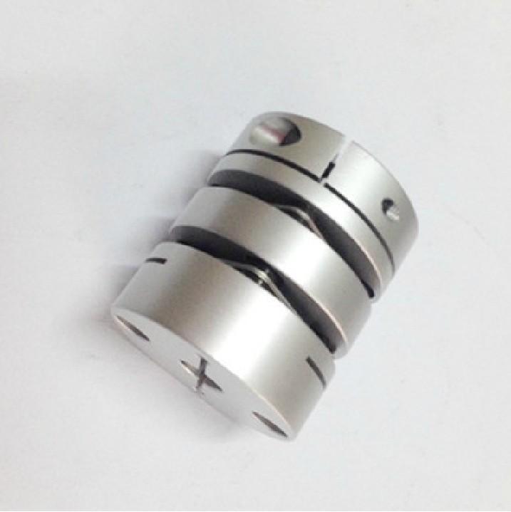 Ligações de alumínio flexíveis novas acoplamento de diafragma duplo para servo e acoplamentos de motor de passo D = 39 L = 49, D1 e D2 são 8 a 19MM