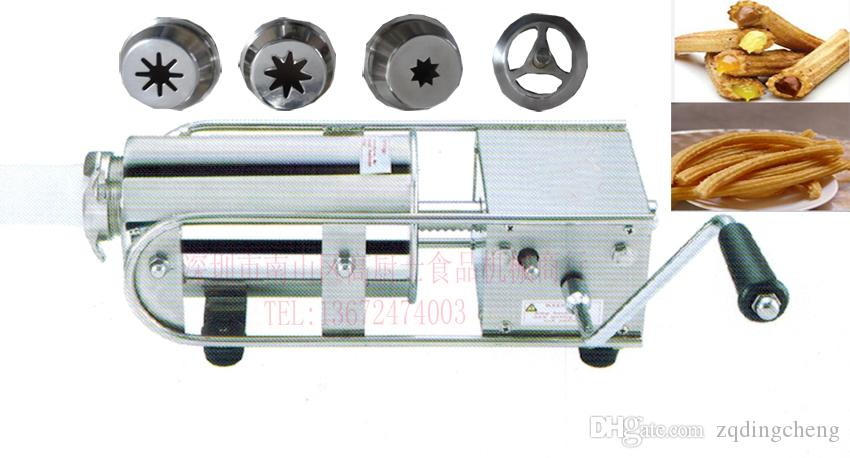 Livraison gratuite 2L horizontal Espagne Churros Maker acier inoxydable
