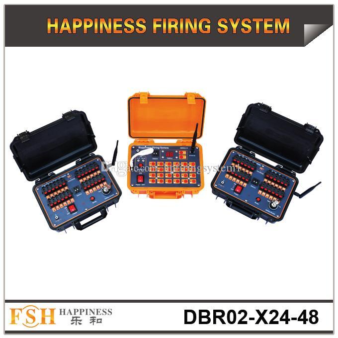 FedEx / DHL spedizione gratuita, distanza a distanza di 500 M, sistema di fuoco pirotecnico, 48 spunti Sistema di sparo sequenziale di felicità, consegna veloce, nuovi prodotti