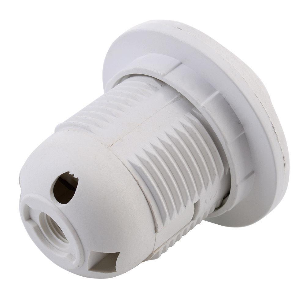 Plastic E27 Screw Base Socket Holder Adapter for LED Light Bulb Lamp 100pcs