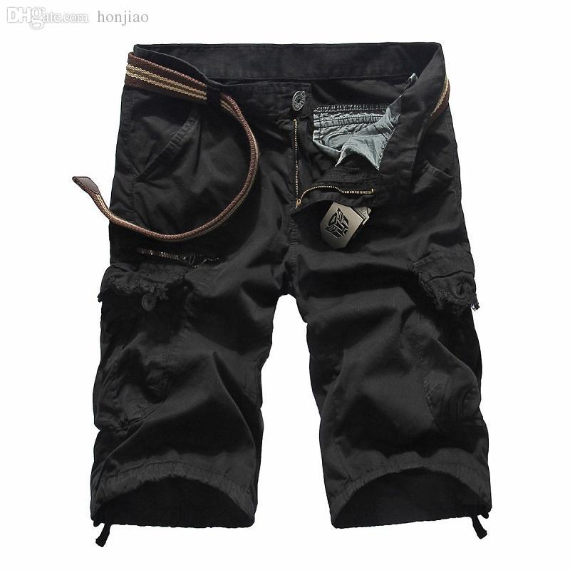 Pantalones cortos Masculino 2020 de Moda Hombres Hombres Pantalones cortos para correr las Bermudas Running Men Compresión de Carga pantalones cortos