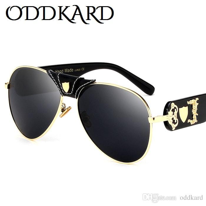 ODDKARD النظارات الشمسية الفاخرة الكلاسيكية للرجال والنساء العلامة التجارية الشهيرة مصمم النظارات الشمسية الطيار oculos de sol uv400
