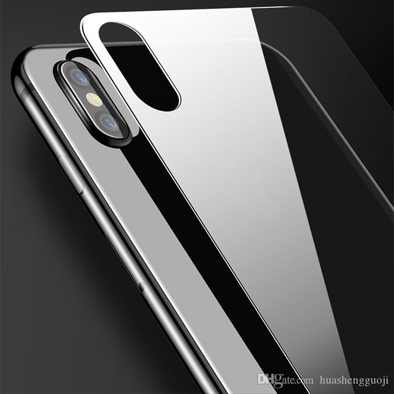 Cristal templado frontal y posterior ultra delgado para iPhone 7 Plus Plus 7 Plus protector transparente de pantalla