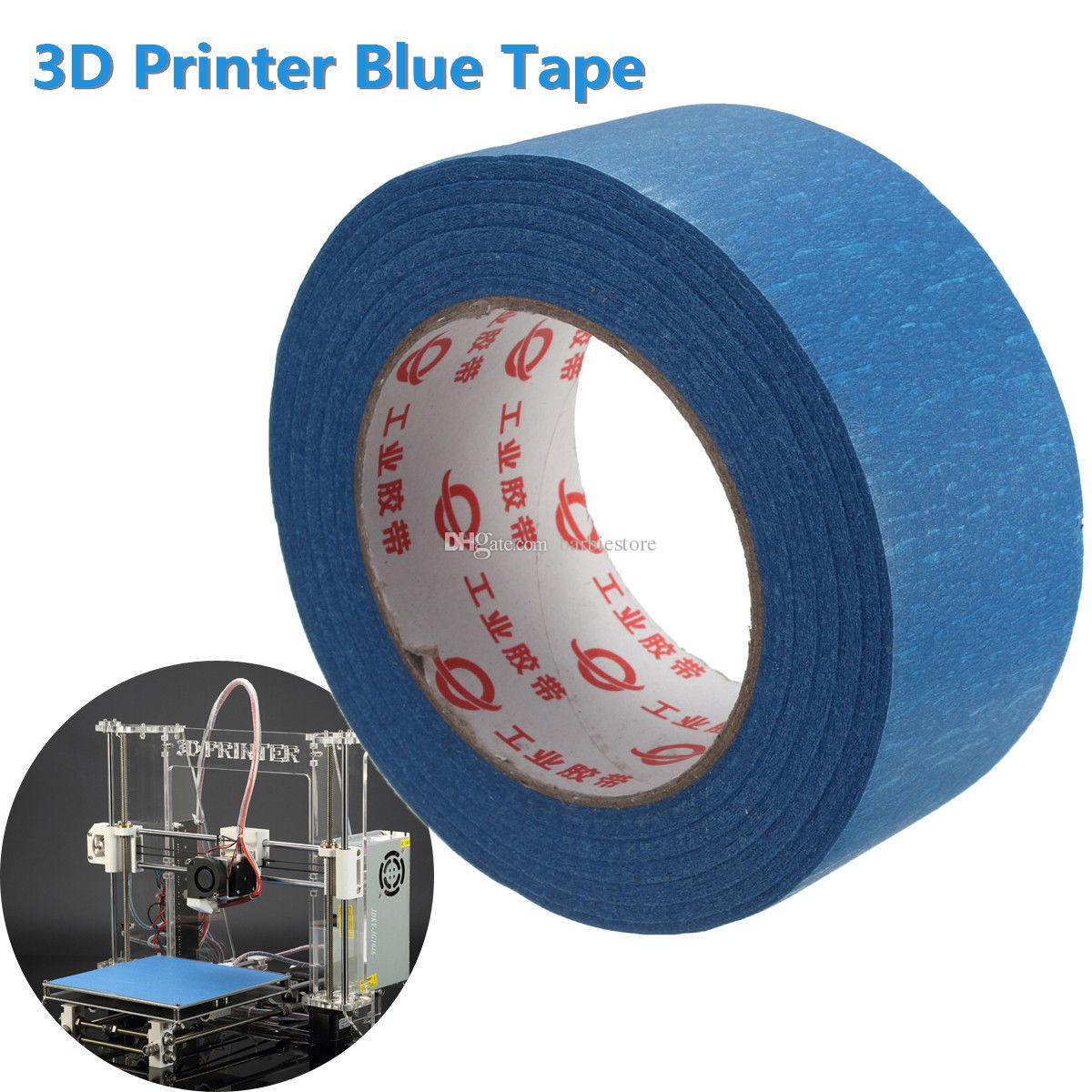 Para Reprap Impresora 3D 50mx50mm Blue Tape Pintores Herramienta de enmascaramiento de impresión B00046 BARD
