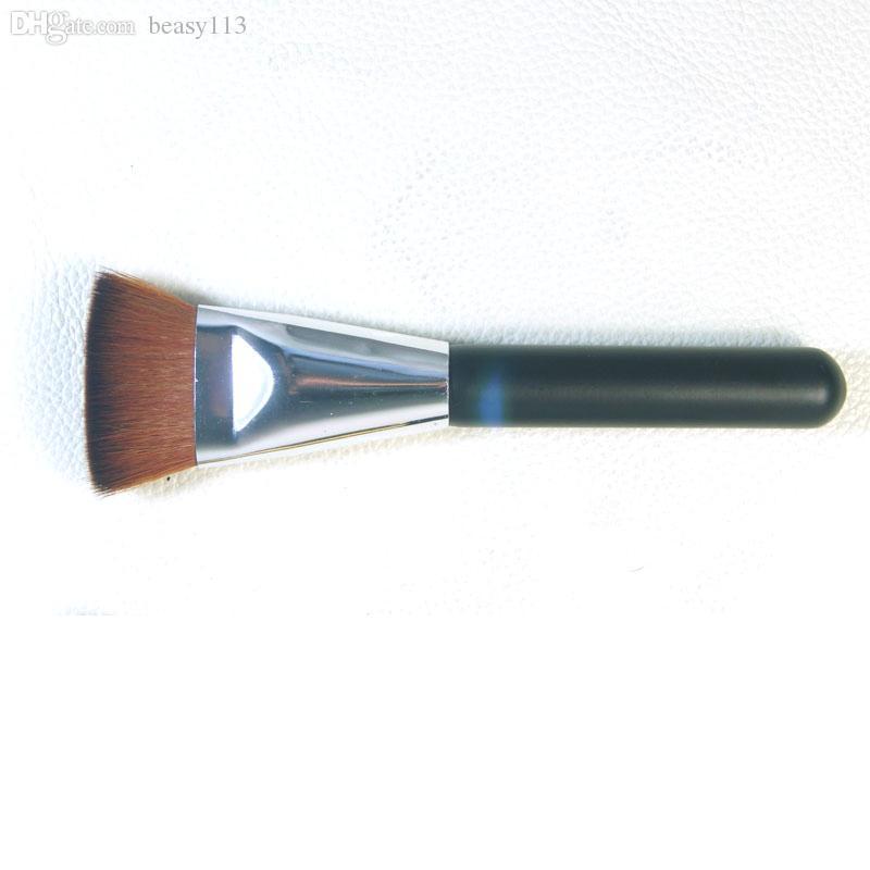 Wholesale-New flat make up brush set contour powder brush set repair face brush for foundation makeup brushes tools women eyebrow blush